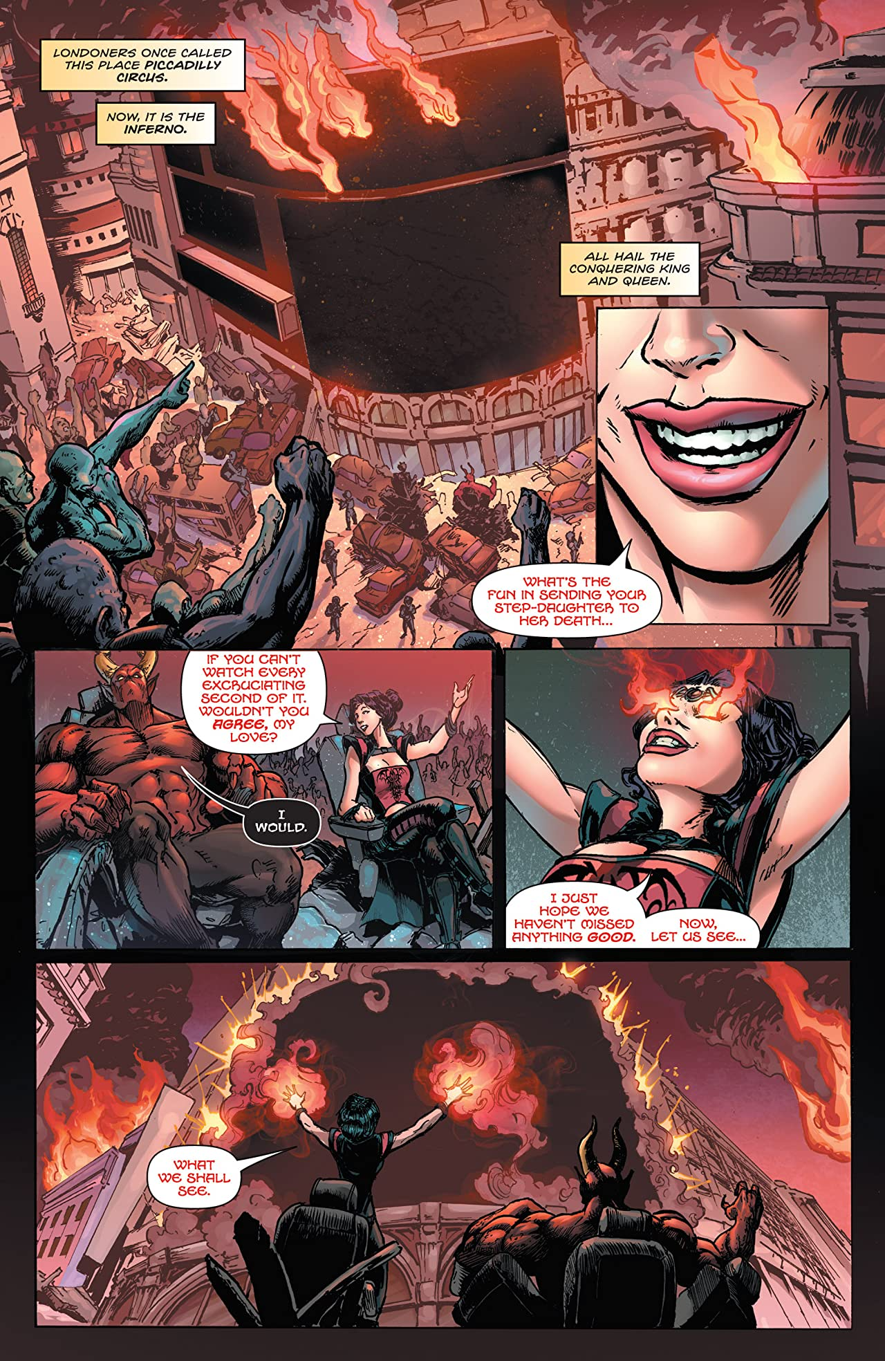 Inferno Rings of Hell #2 (of 3)