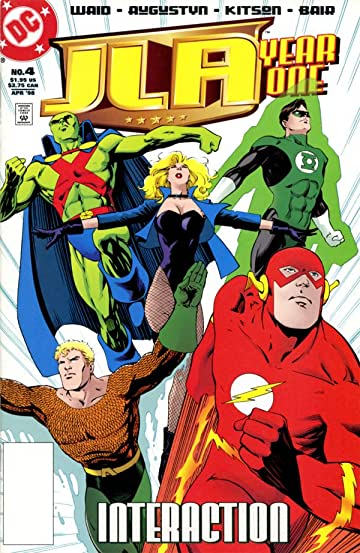 JLA Year One #4 (of 12)