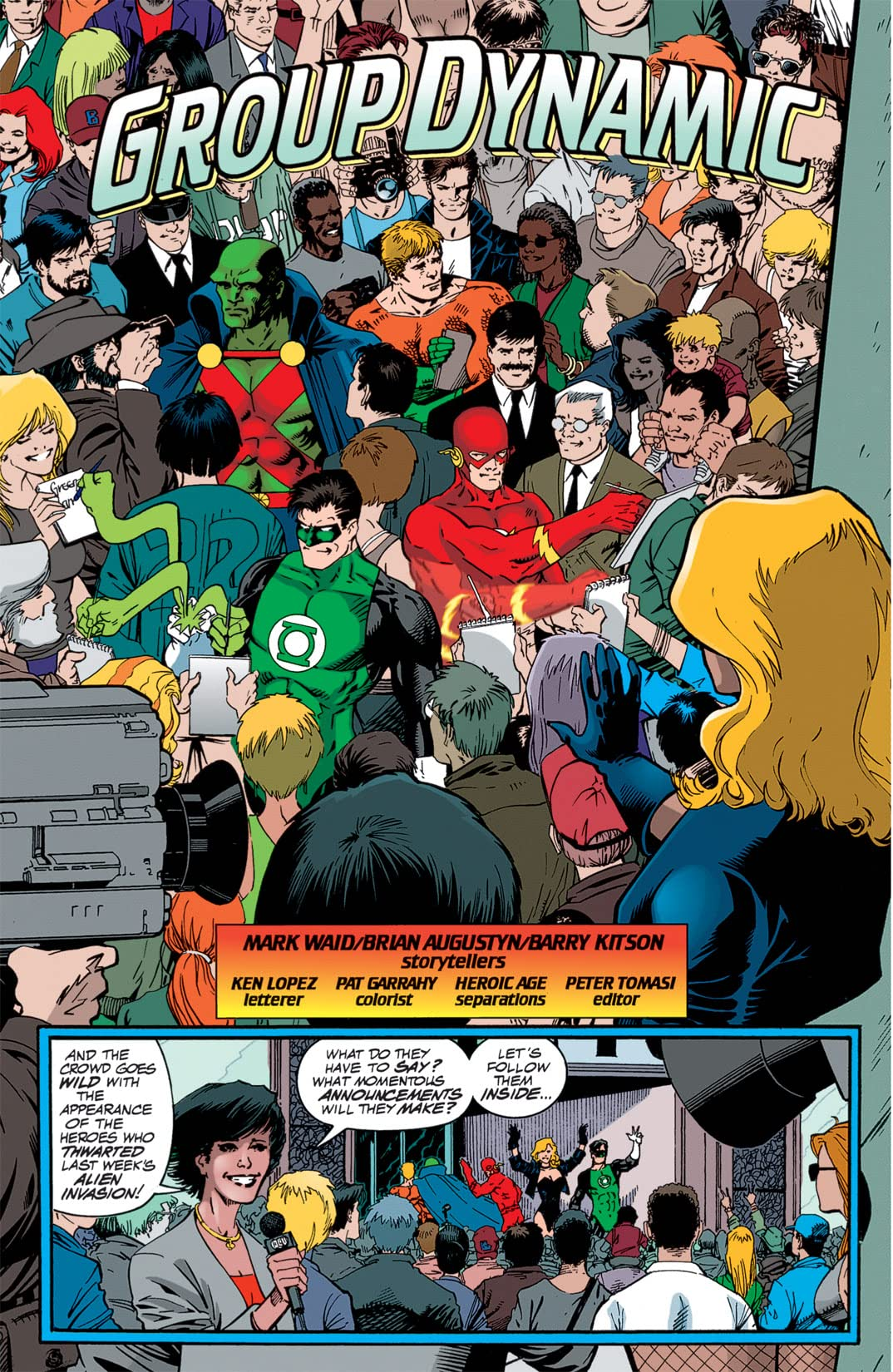 JLA Year One #2 (of 12)