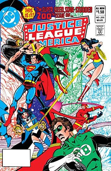 Justice League of America (1960-1987) #200