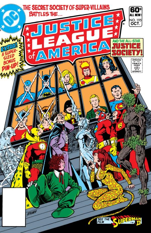 Justice League of America (1960-1987) #195