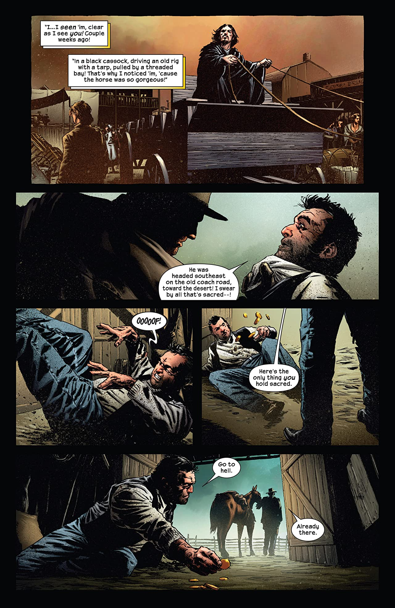 Dark Tower: The Gunslinger - The Battle of Tull #1 (of 5)