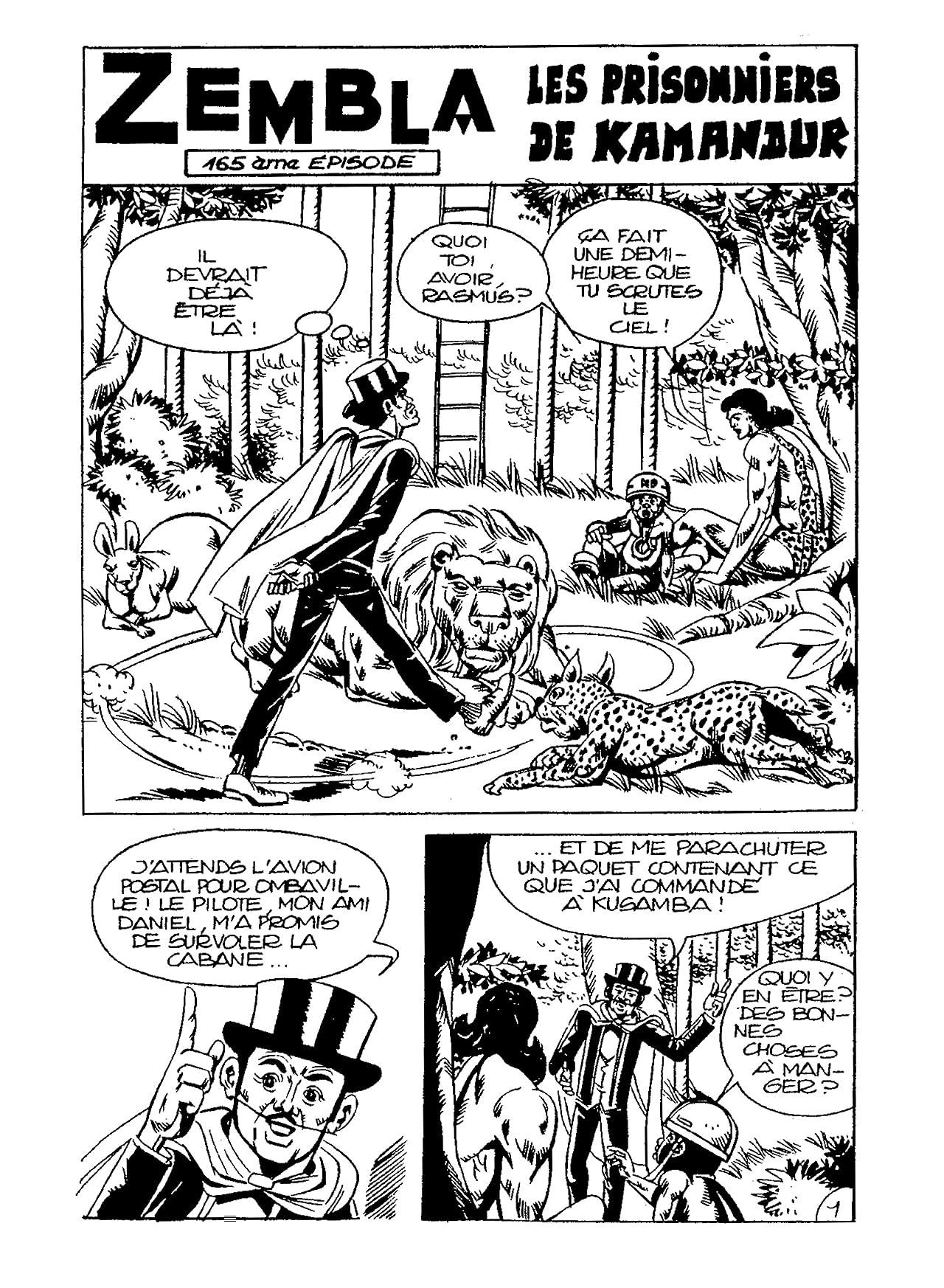 ZEMBLA Vol. 8: Les Prisonniers de Kamandur