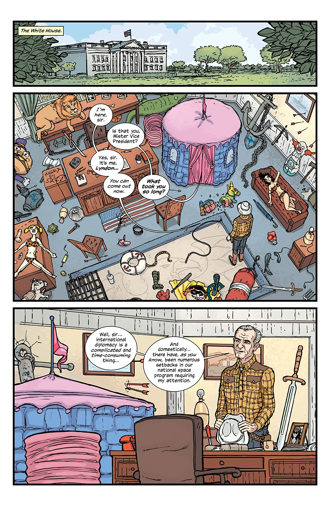 The Manhattan Projects #23