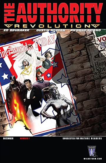 The Authority: Revolution #1 (of 12)