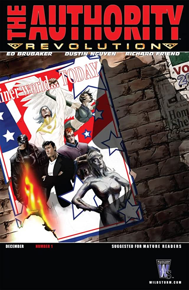 The Authority: Revolution #1