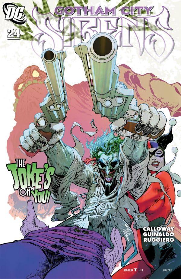 Gotham City Sirens #24