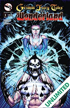 Grimm Fairy Tales vs. Wonderland #3 (of 4)