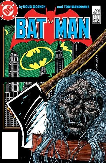 Batman (1940-2011) #399