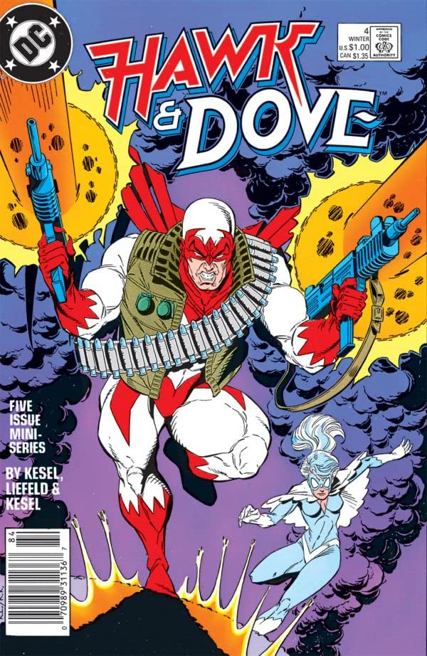 Hawk & Dove (1988) #4 (of 5)