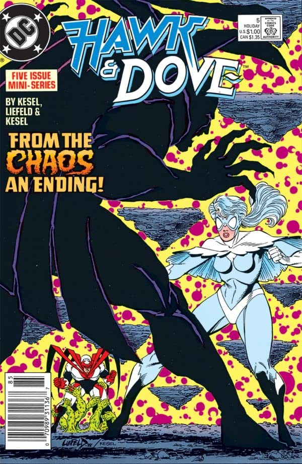 Hawk & Dove (1988) #5 (of 5)
