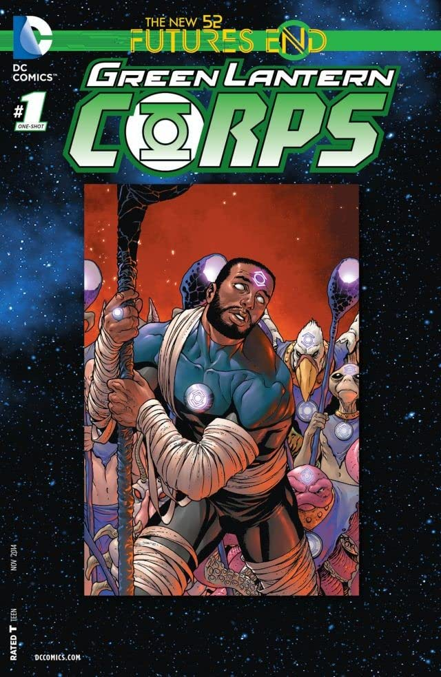 Green Lantern Corps (2011-2015) #1: Futures End