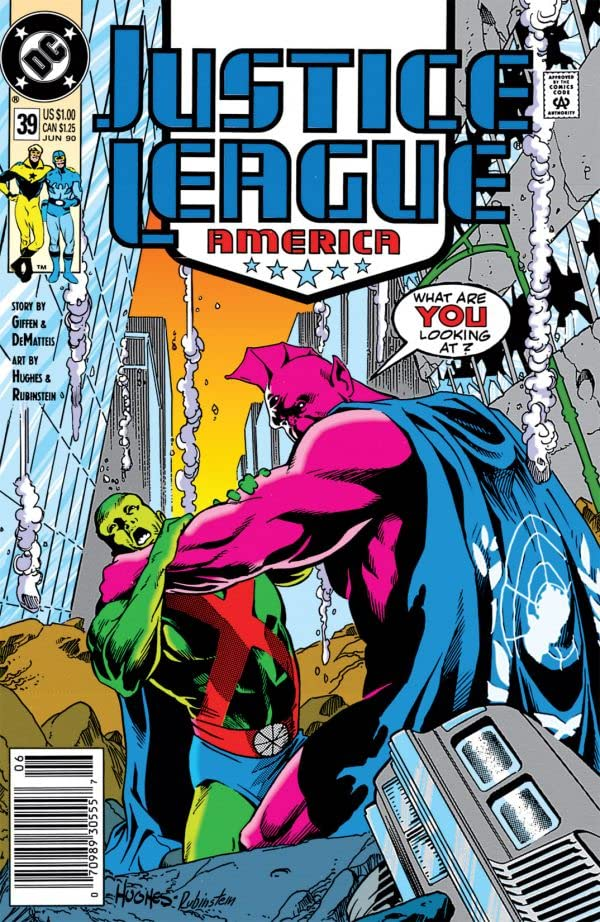 Justice League of America (1987-1996) #39