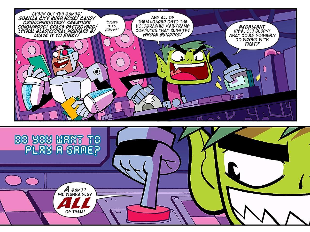 Teen Titans Go! (2013-) #11