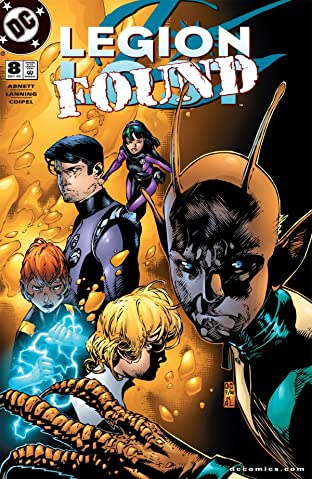 Legion Lost (2000-2001) No.8 (sur 12)