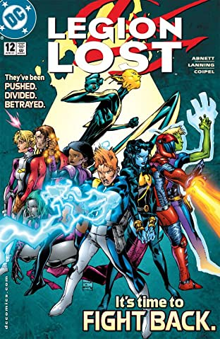 Legion Lost (2000-2001) No.12 (sur 12)