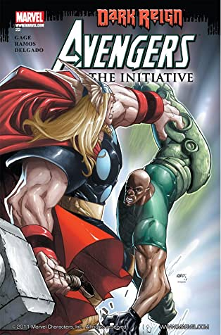 Avengers: The Initiative #22