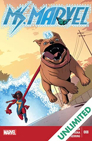 Ms. Marvel (2014-2015) #8