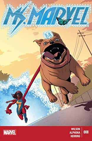 Ms. Marvel (2014-2015) No.8