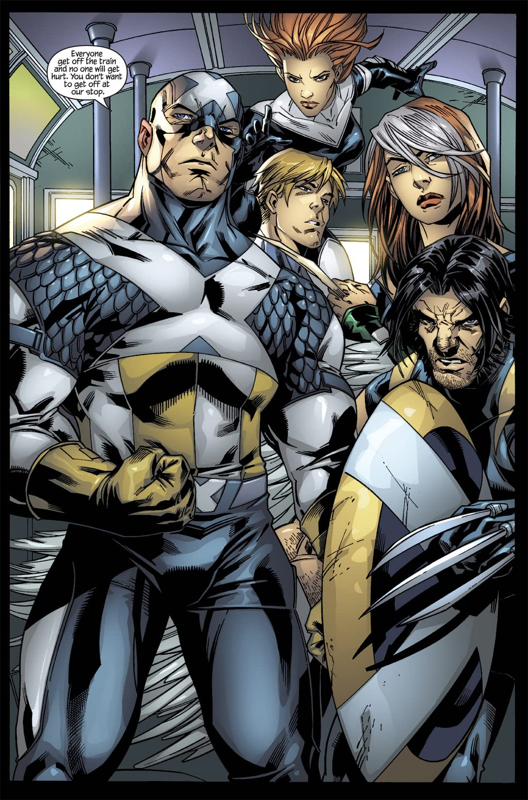 Ultimate X-Men/Ultimate Fantastic Four Annual #1
