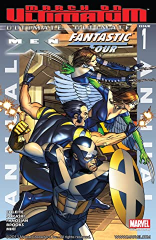 Ultimate X-Men/Ultimate Fantastic Four Annual #1