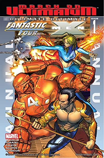 Ultimate Fantastic Four/Ultimate X-Men #1: Annual