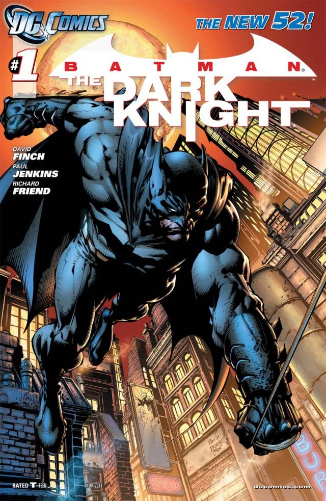 Batman: The Dark Knight (2011-2014) #1