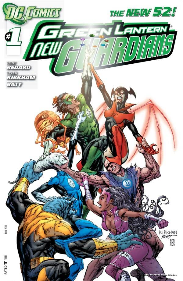 Green Lantern: New Guardians (2011-2015) #1