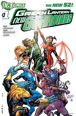 Green Lantern: New Guardians (2011-2015) No.1