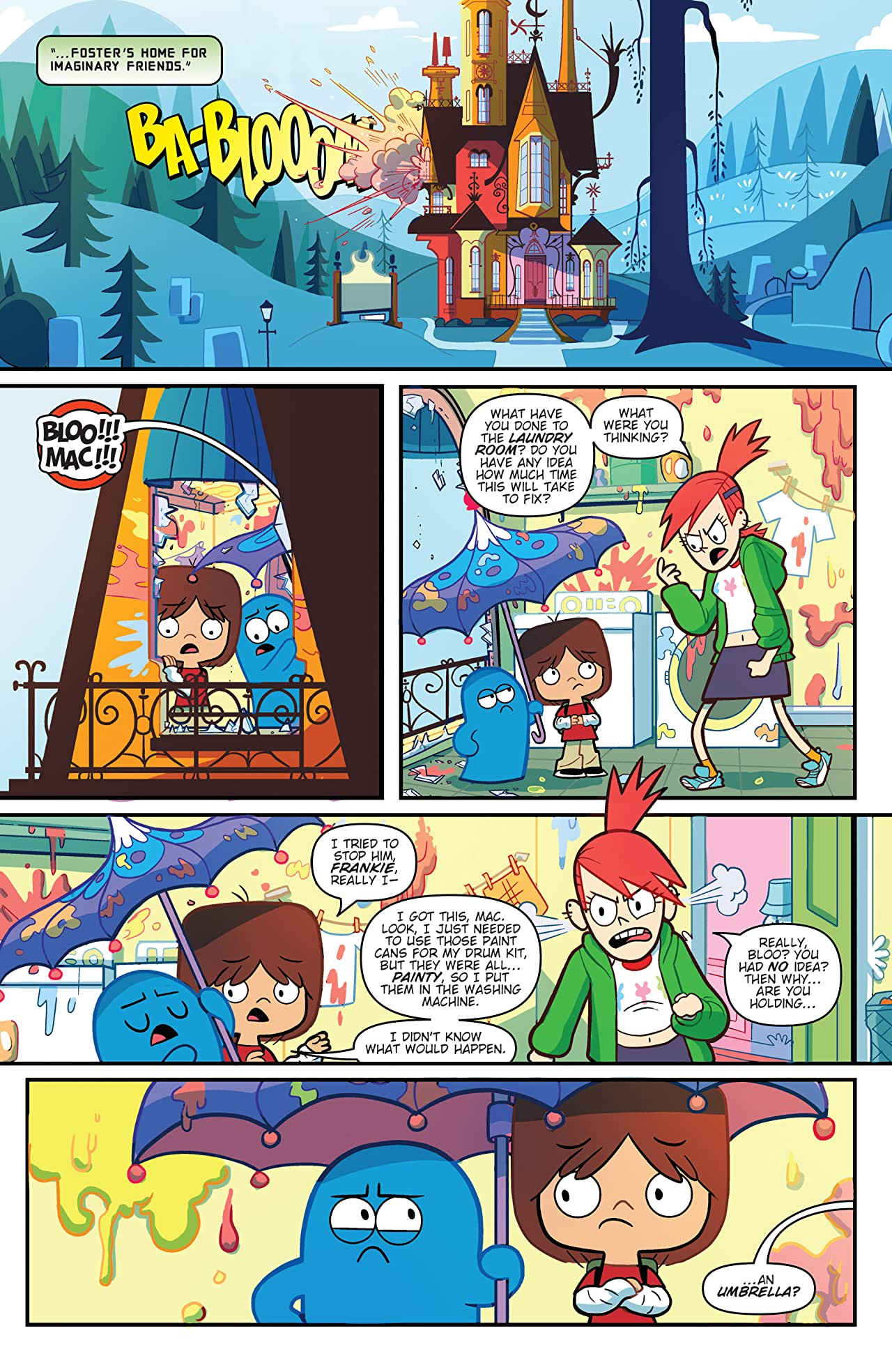 Cartoon Network: Super Secret Crisis War!: Foster's Home for Imaginary Friends #1
