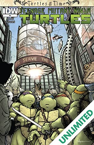 Teenage Mutant Ninja Turtles: Turtles in Time #4 (of 4)