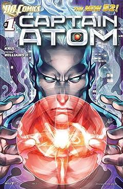 Captain Atom (2011-2012) #1