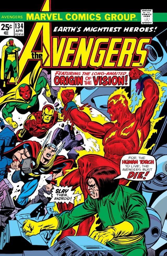 Avengers (1963-1996) #134