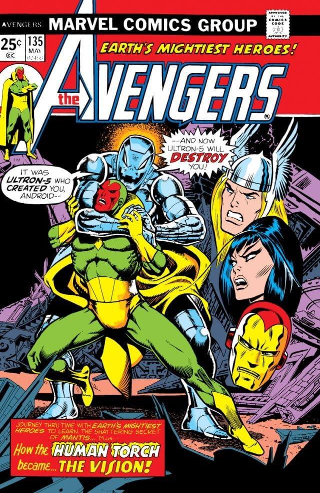 Avengers (1963-1996) #135