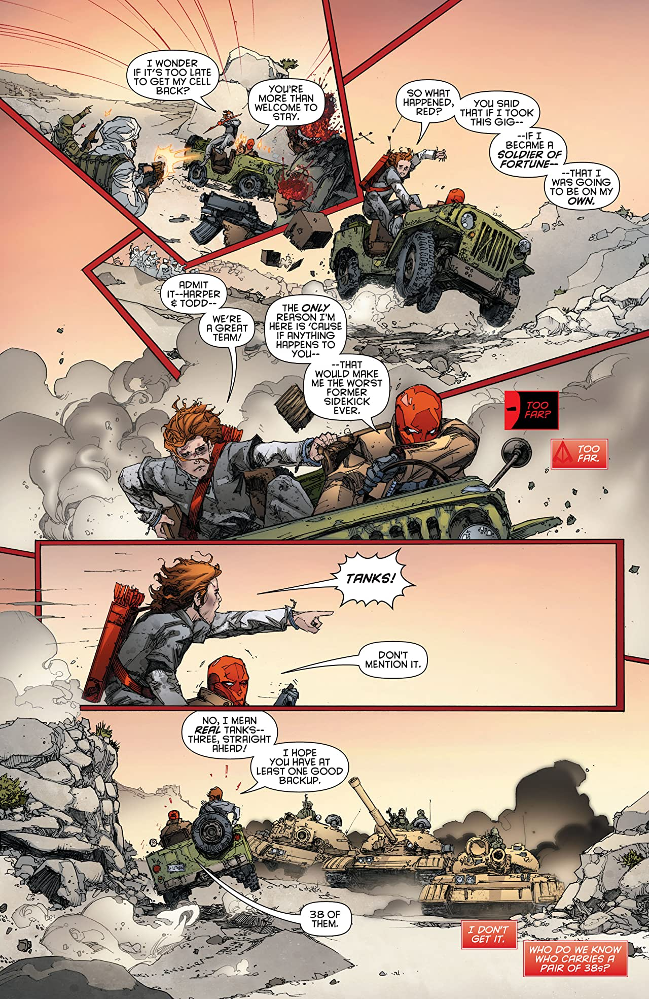 Red Hood and the Outlaws (2011-2015) #1