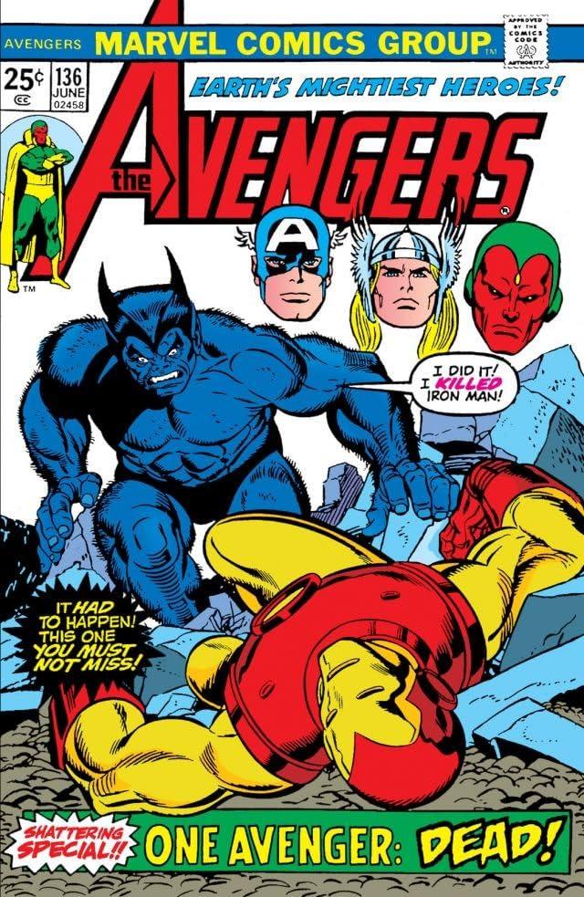 Avengers (1963-1996) #136