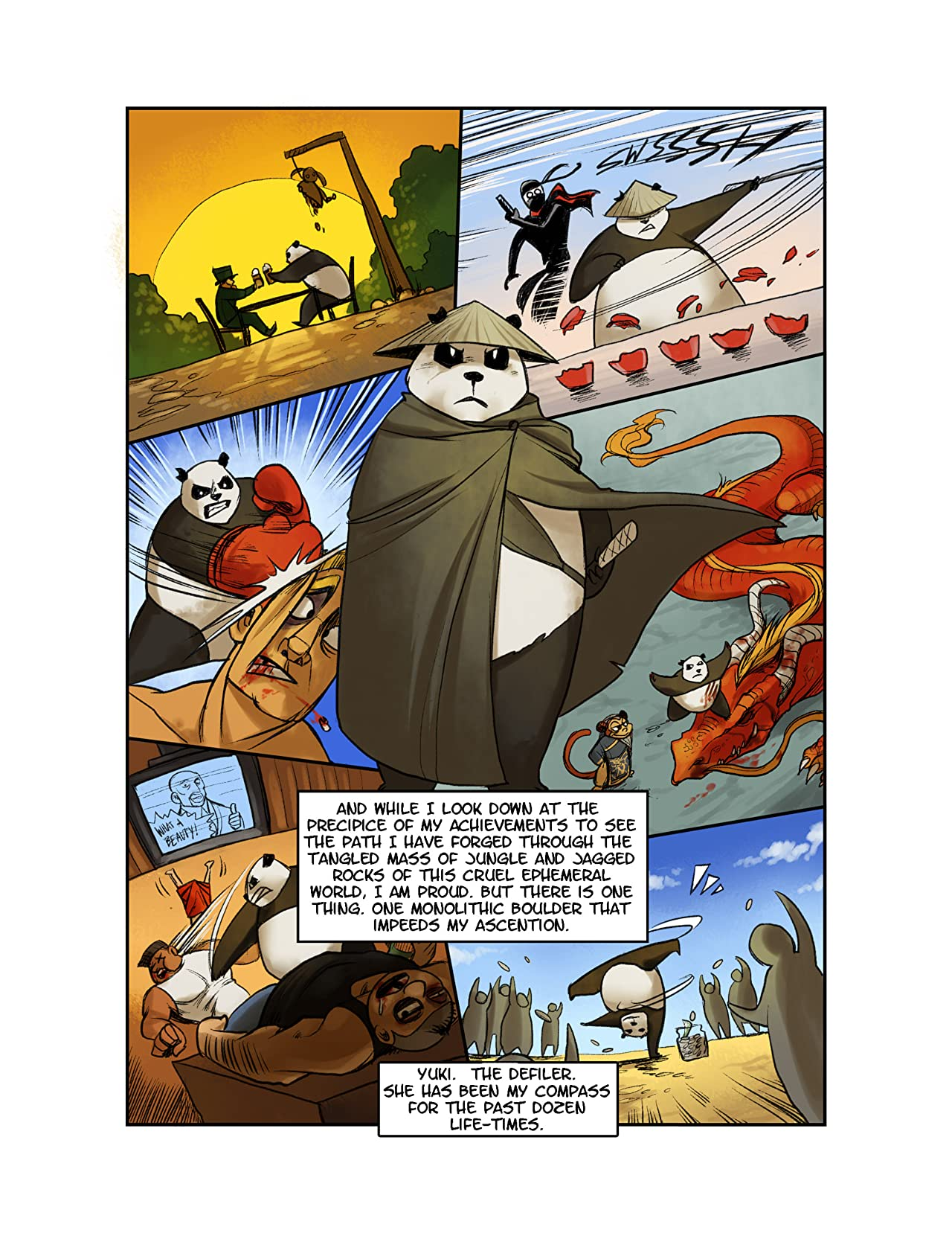 Yuki vs Panda Vol. 2: The Confrontation!