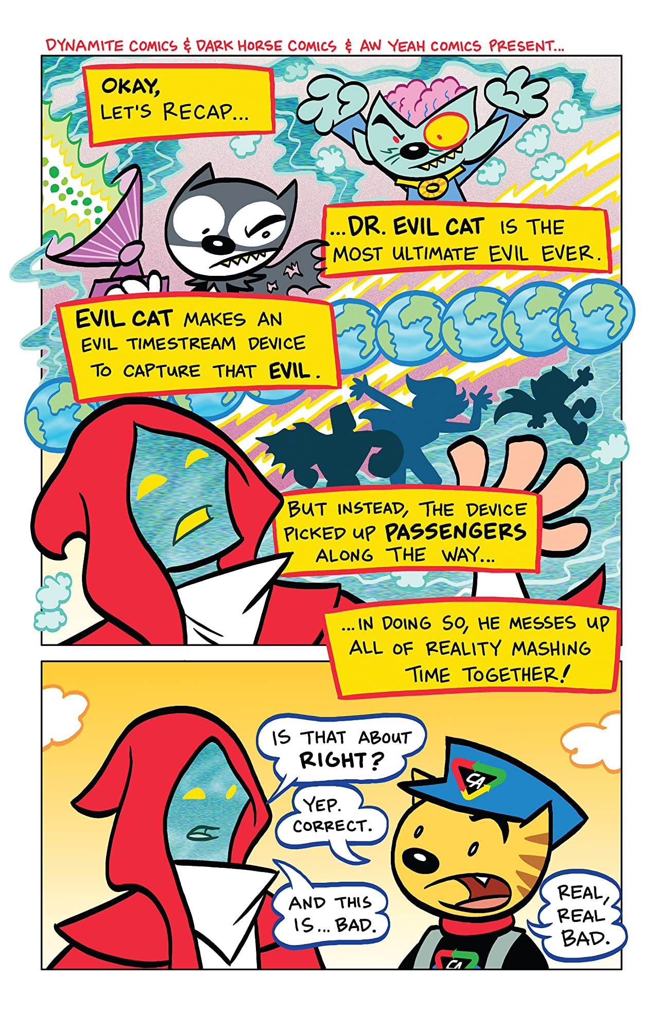 Captain Action Cat: The Timestream Catastrophe #4 (of 4): Digital Exclusive Edition