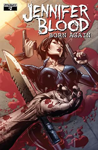 Jennifer Blood: Born Again #2 (of 5): Digital Exclusive Edition