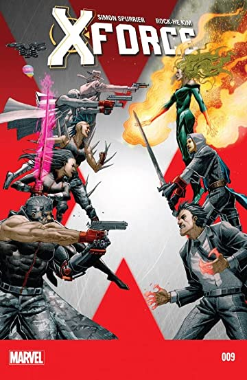 X-Force (2014-2015) #9