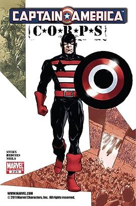 Captain America Corps No.3 (sur 5)