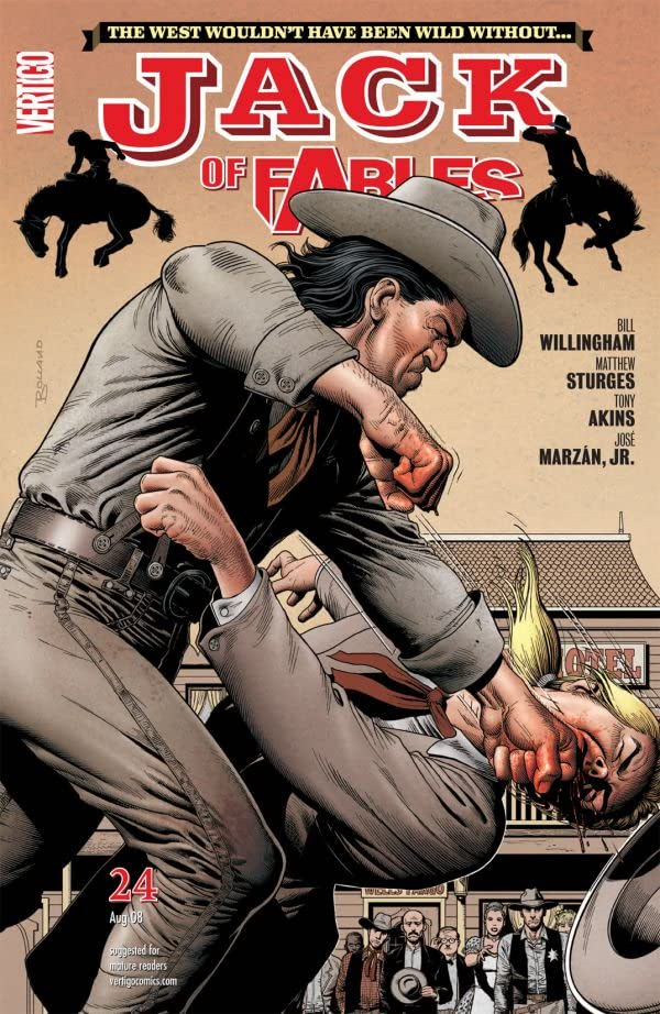 Jack of Fables #24