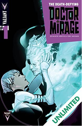 The Death-Defying Dr. Mirage (2014) #1 (of 5): Digital Exclusives Edition