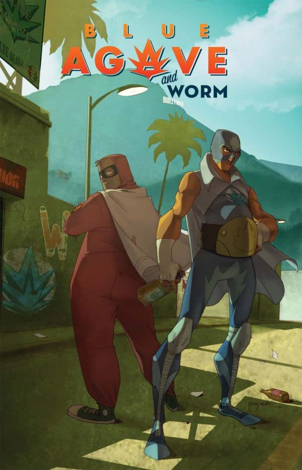 Blue Agave and Worm