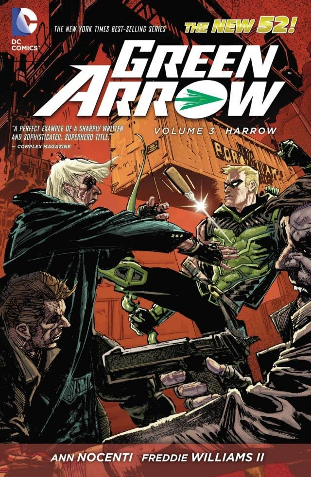 Green Arrow (2011-2016) Vol. 3: Harrow