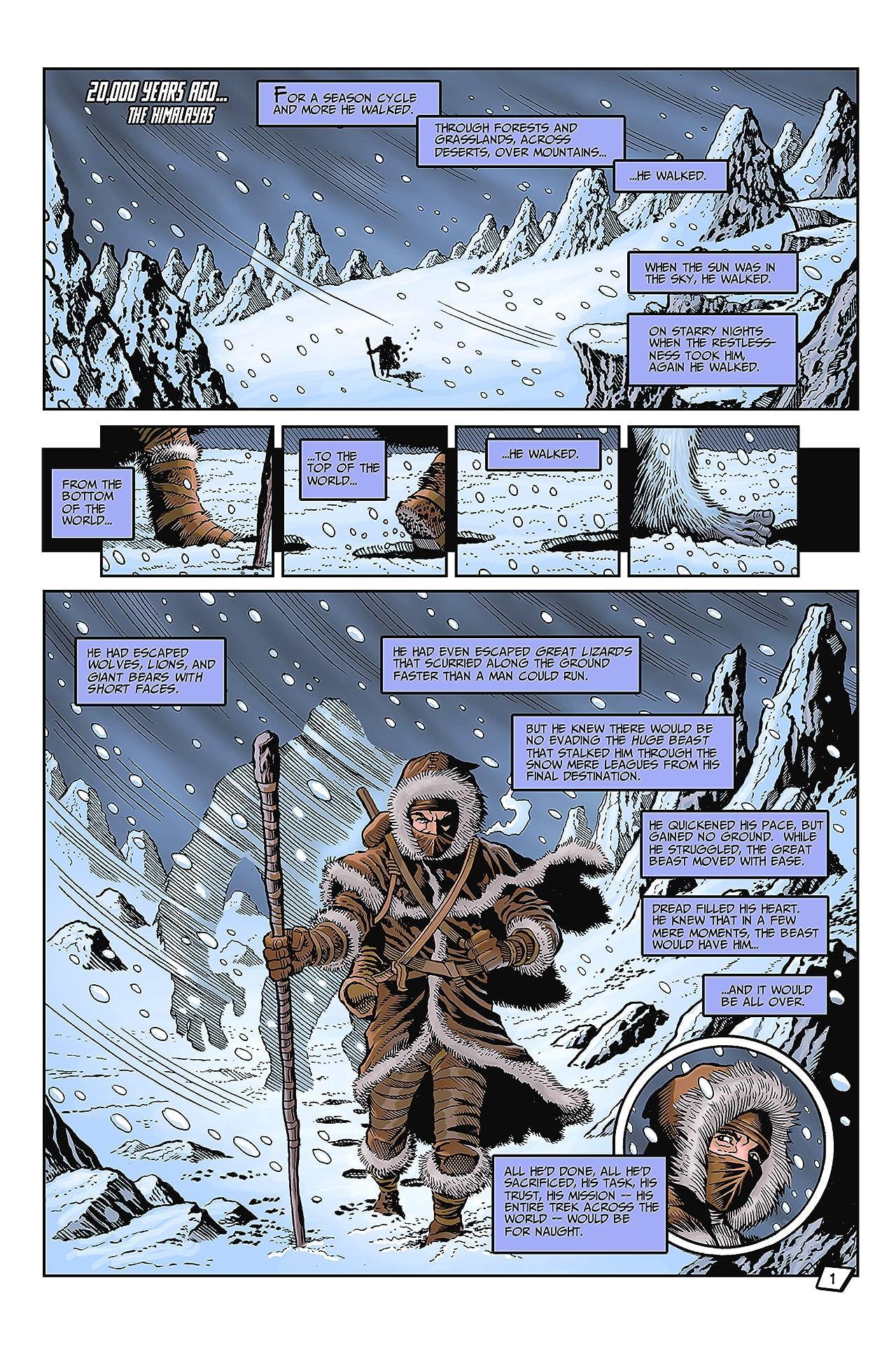 John Aman Amazing Man #1