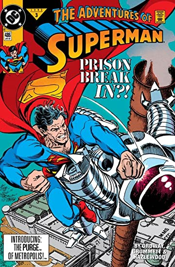 Adventures of Superman (1986-2006) #486