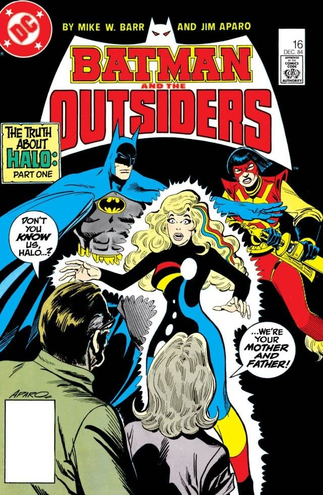 Batman and the Outsiders (1983-1987) #16