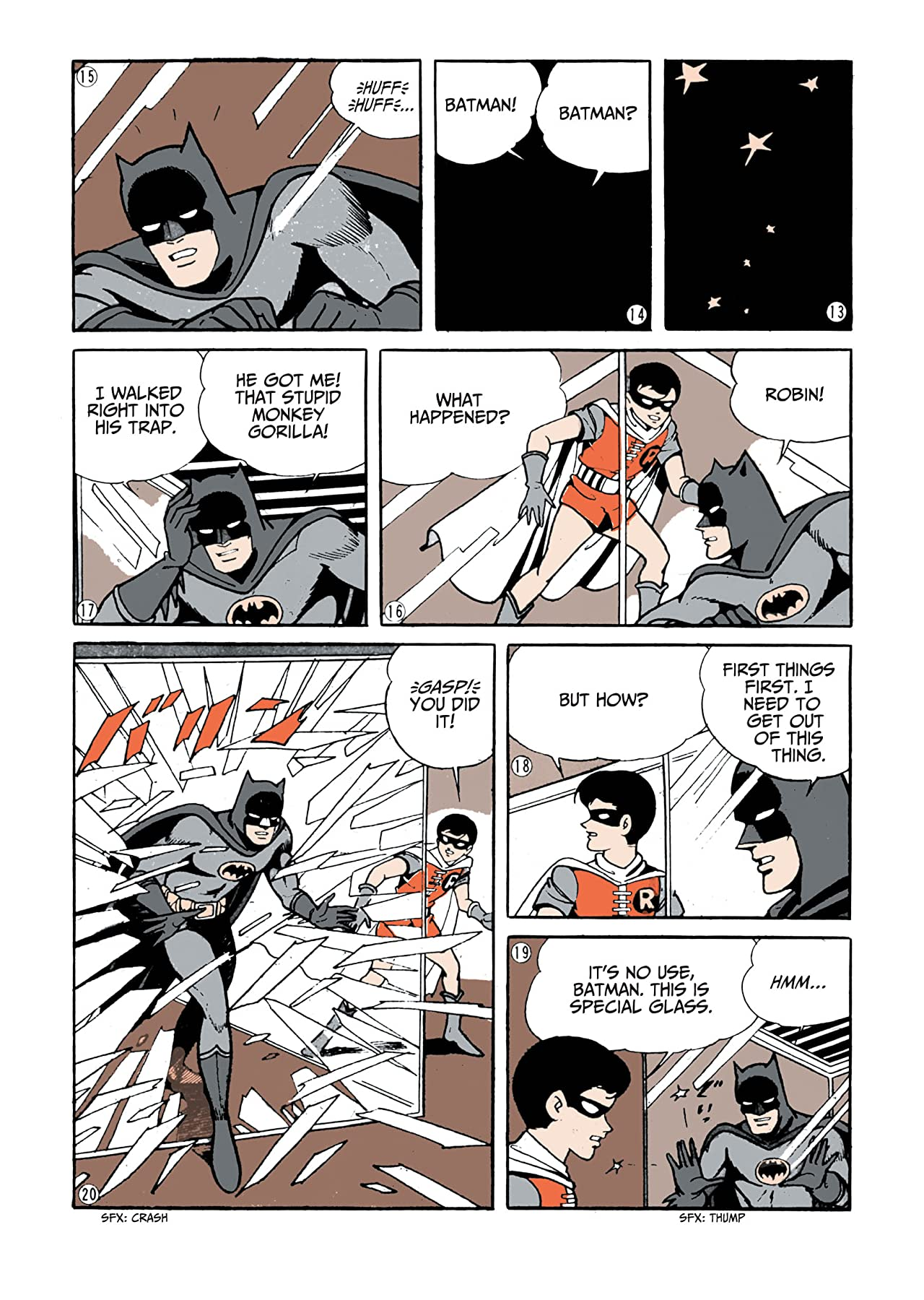 Batman: The Jiro Kuwata Batmanga #12