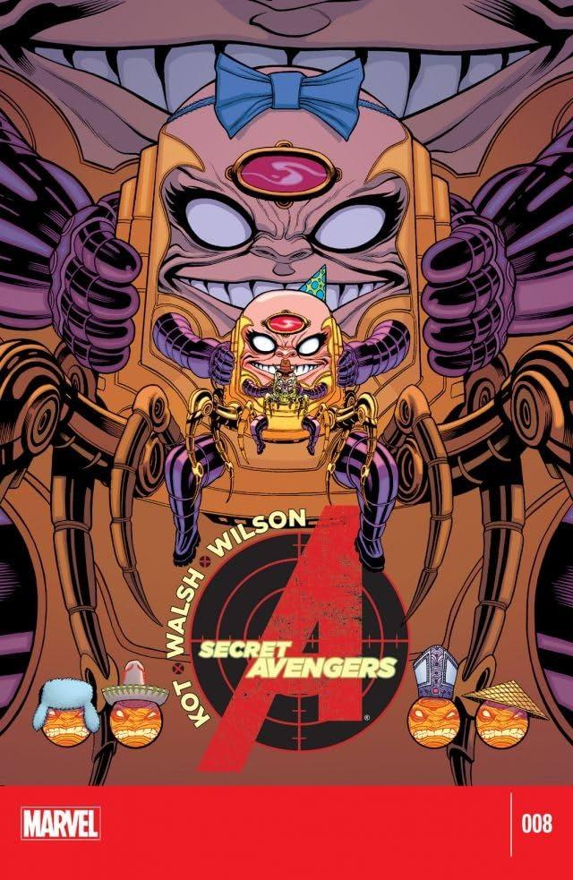 Secret Avengers (2014-2015) #8